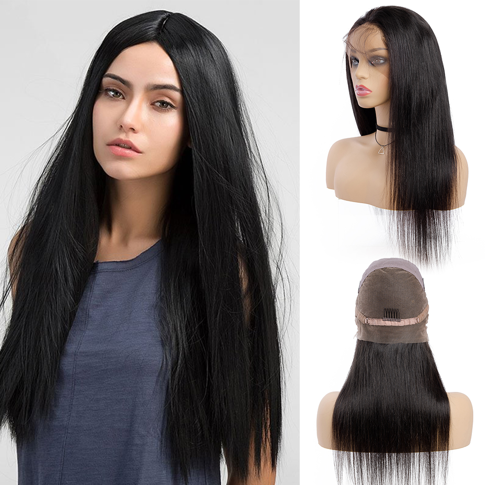 MALAIKA Full Lace Human Hair Wigs For Black Women Pre Plucked Hairline Full Lace Wig Brazilian Hair Swiss Lace