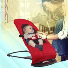 Foldable Baby Bouncer Jumpers Newborn Rocking Chair Automatic Cradle Multifunctional Baby Sleeping Basket Swings Appease Chair(China)
