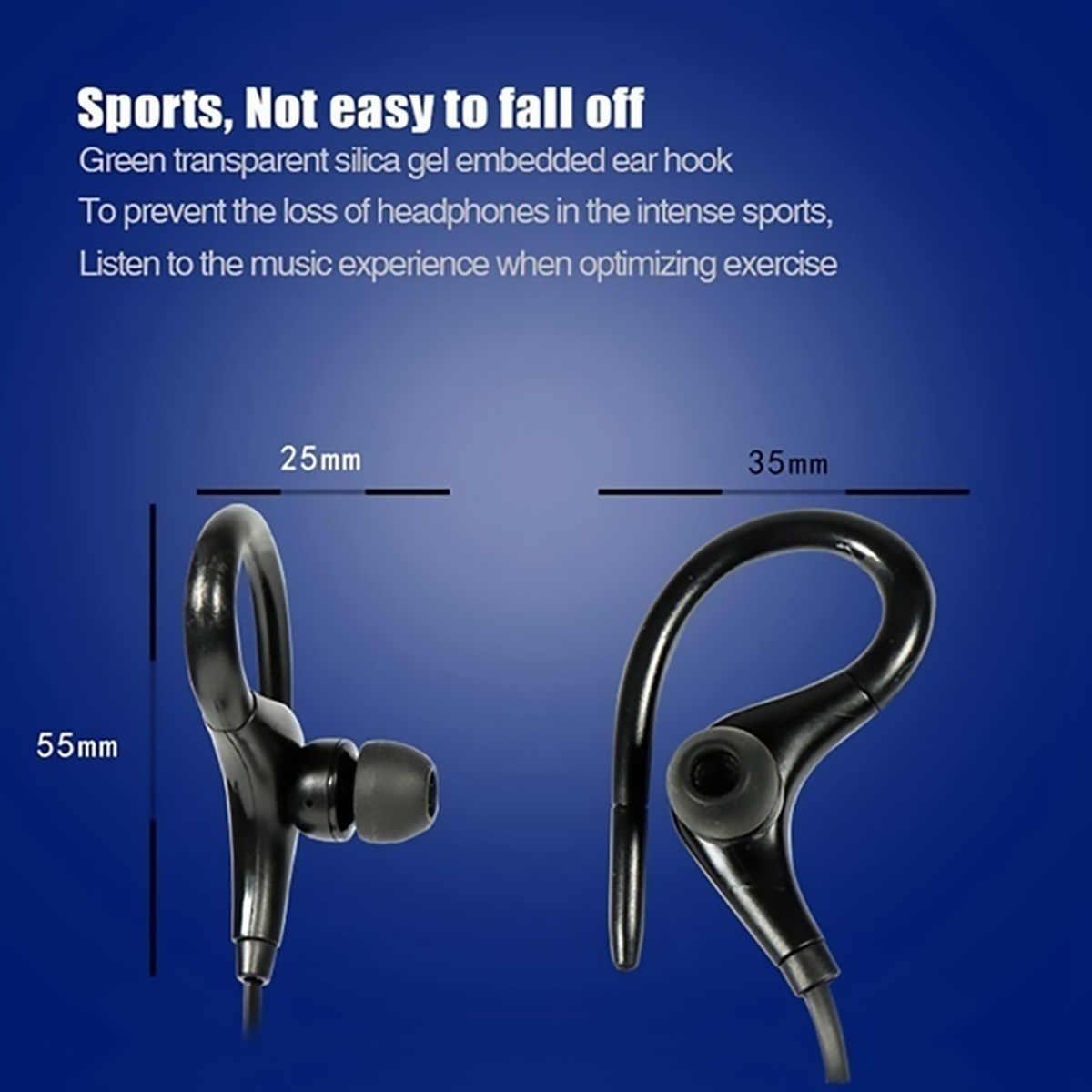BT-1 Bluetooth אלחוטי אוזניות ספורט הפחתת רעש אוזניות סטריאו Bluetooth אוזניות עם מיקרופון עבור iPhone Huawei Xiaomi
