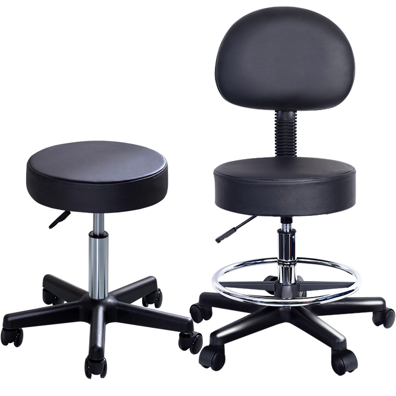 Karen Poetry Rotary Chair Beauty Salon Surgery Office Stool Barber Shop Pulley Work Chair Beauty Stool