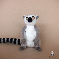 Soft Real Life Animals Toy Plush Children'S Birthday Gifts Ring Tailed Lemur Dolls Toy Store