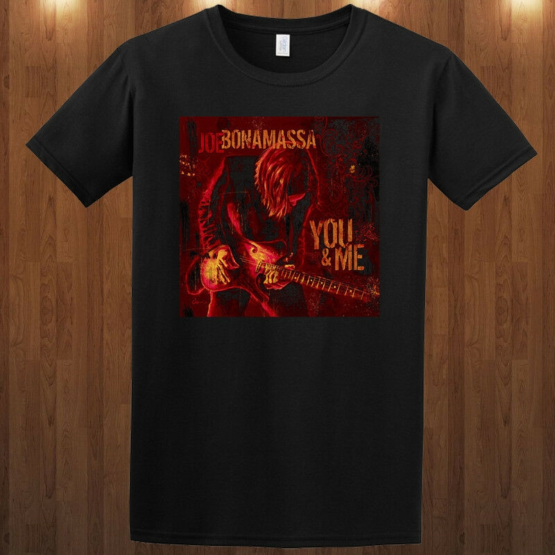 Joe Bonamassa tee T-Shirt blues rock guitarist S M L XL 2XL 3XL Bloodline Printed T-Shirt Pure Cotton Men top tee image