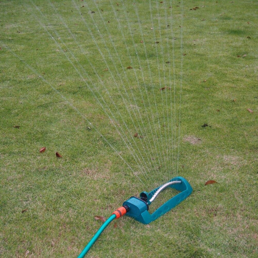 Oszillator Rasen Garten Sprinkler bewässerung Einstellbare Legierung Bewässerung Sprinkler Sprayer Oszillierende Heiße Verkäufe Bewässerung Werkzeuge