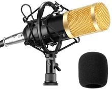 karaoke microphone bm800 studio condenser mikrofon mic BM-800 For KTV Radio Braodcasting Singing Recording computer BM 800