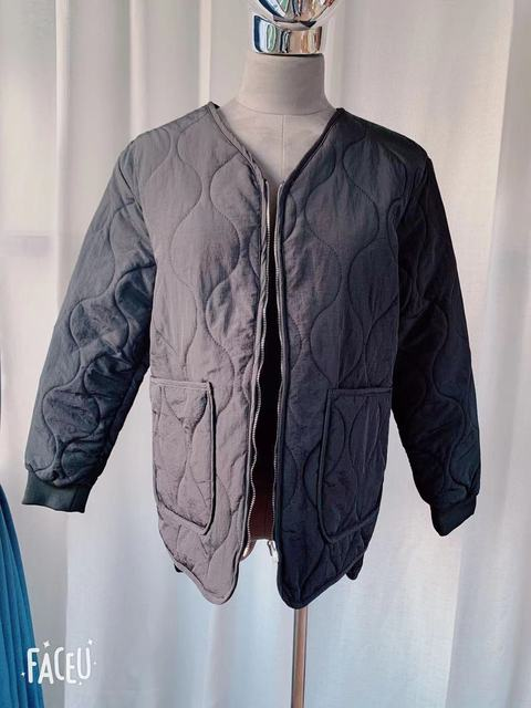 New Loose Baseball Cotton-Padded Coat Bubble Solid Oversized Short Women Jacket Winter Autumn Female Puffer Jackets Parkas Mujer 5