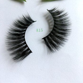 New False Natural Mink Eyelashes 3D Mink Lashes Long Thick False Lashes Dramatic Volume Eyelash Extension Girlglee Hand Made Mak image