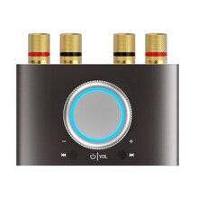 Lepy Lp-168Mini Bluetooth цифровой усилитель Hifi стерео домашний аудио усилитель мощности 50 Вт+ 50 Вт черный Eu штекер