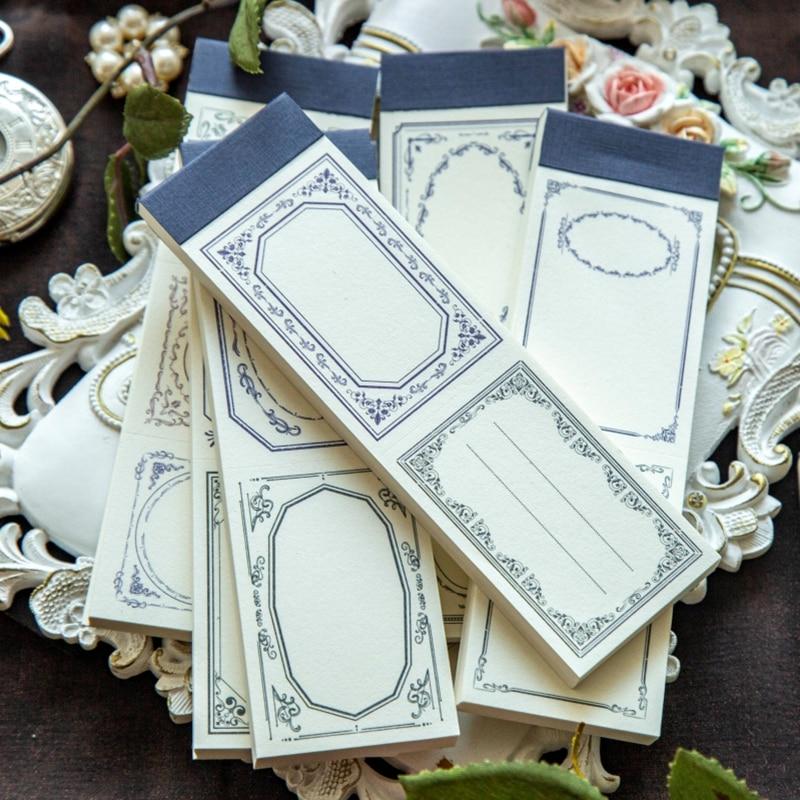 Мокинг Винтаж Ретро византийский цветы дневник Материал Бумага пакет журнал Скрапбукинг блокнот для заметок в розницу