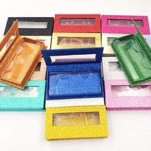 iflovedekd 10pcs  wholesale price false eyelashes Rectangular packing box 3d mink lashes boxes Custom logo
