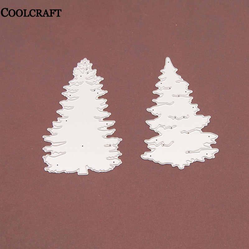 arte y decoraci/ón tarjetas de Navidad /álbum de recortes Plantilla de troquelado AIUII con barandilla de metal para scrapbooking tarjetas de papel