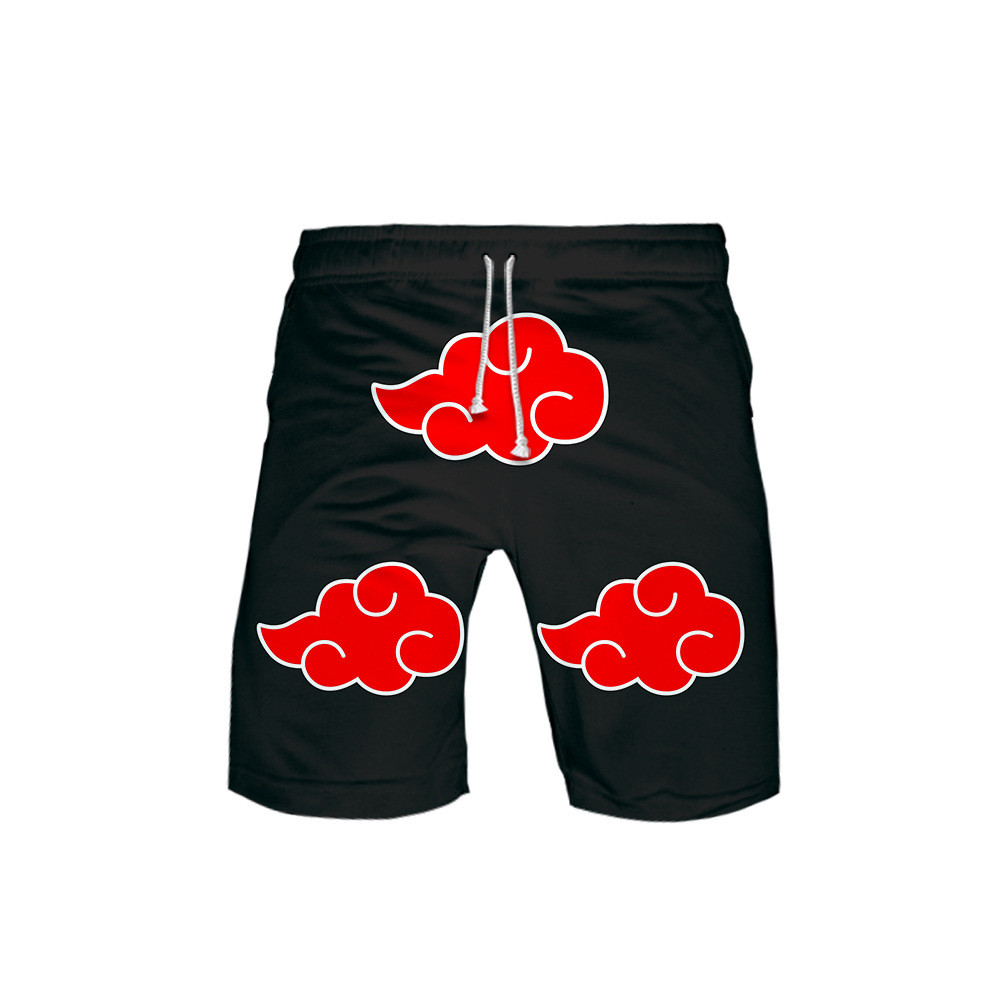 Naruto Akatsuki 3D Board Shorts Trunks Summer New Quick Dry Beach Swiming Shorts Men Hip Hop Short Pants Beach Clothes