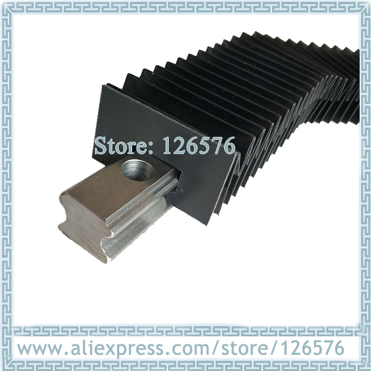 Linear Guide Rail Dust Proof Cover For 15 20 25 30 35 45 Rail