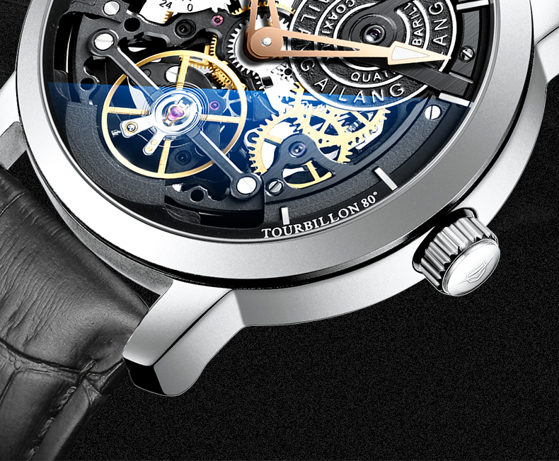 H5f7fc61f784045aab46173d9647dc045N AILANG Original design watch automatic tourbillon wrist watches men montre homme mechanical Leather pilot diver Skeleton 2019