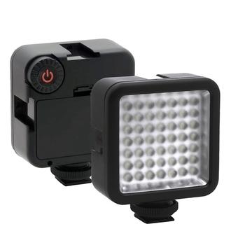 Hot-Bright LED Video Light 49 Led oświetlenie kamery możliwość przyciemniania przenośny Panel światła kamery do aparatów Canon Nikon Sony i innych kamer DLSR tanie i dobre opinie FGHGF CN (pochodzenie) as description Daylight 5600K Universal