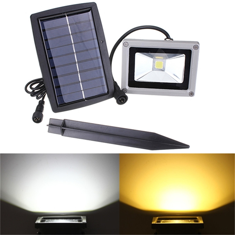 Warm White LED Paisagem Lâmpada Solar Ao