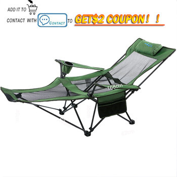 Beach With Bag Portable Folding Chairs Fishing Camping Chair Seat  Oxford Cloth Lightweight Seat for  stainless steel