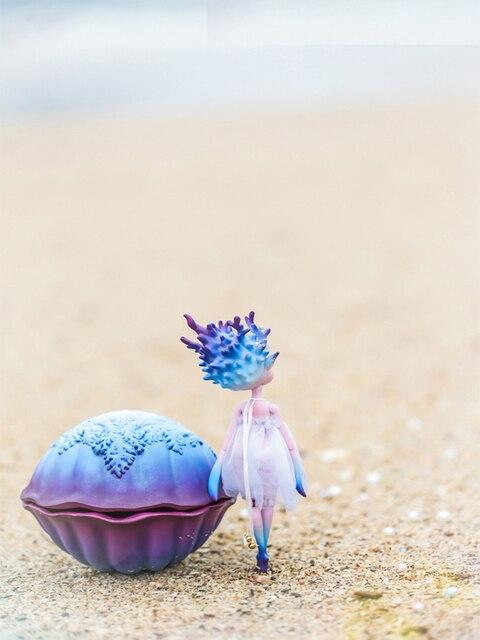 BJD  1/8  Fashion   Ocean   Pet   Coral   Doll 3