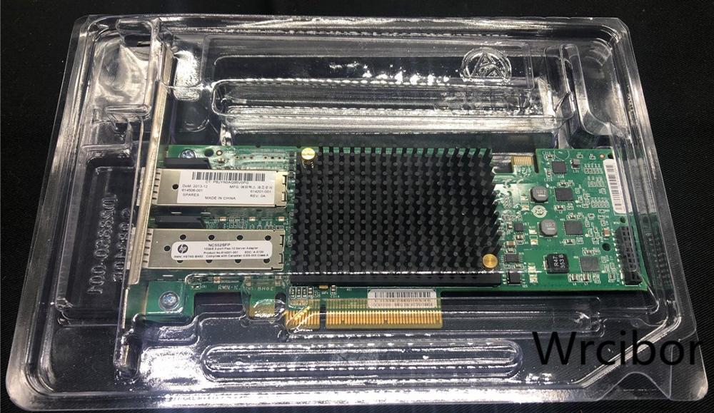 Half high 581201-B21 586444-001 HP NC550SFP 10GB 2-PORT PCIE X8 ETHERNET ADAPTER