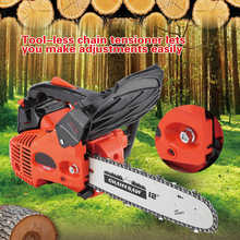 Gasoline Chainsaw Wood 900W 12-160ml Garden-Tools Cutting Oil-Capacity
