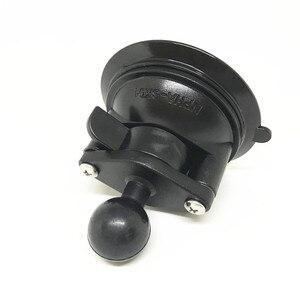 Image 5 - Jadkinsta диаметр 80 мм базовый автомобильный оконный Поворотный замок присоска для 1 дюймового шарового крепления для камеры Gopro смартфона