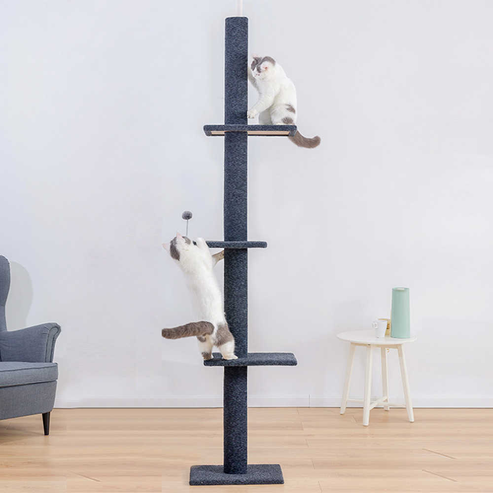 Cat S Tree Tower Condo 95 113inch Pet Cat Tree Cat Furniture Pet Tree For Cats Cat Tower Cat Activity Tree For Kittens Pet House Furniture Scratchers Aliexpress