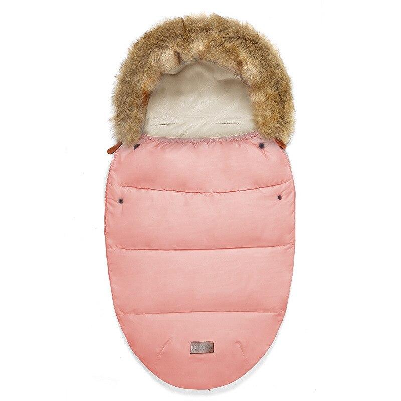 Newborn Warm Sleepsacks Envelope Sleepsacks Winter Baby Stroller Sleeping Bag Thicken Warm Infant Stroller Footmuff Wheelchair