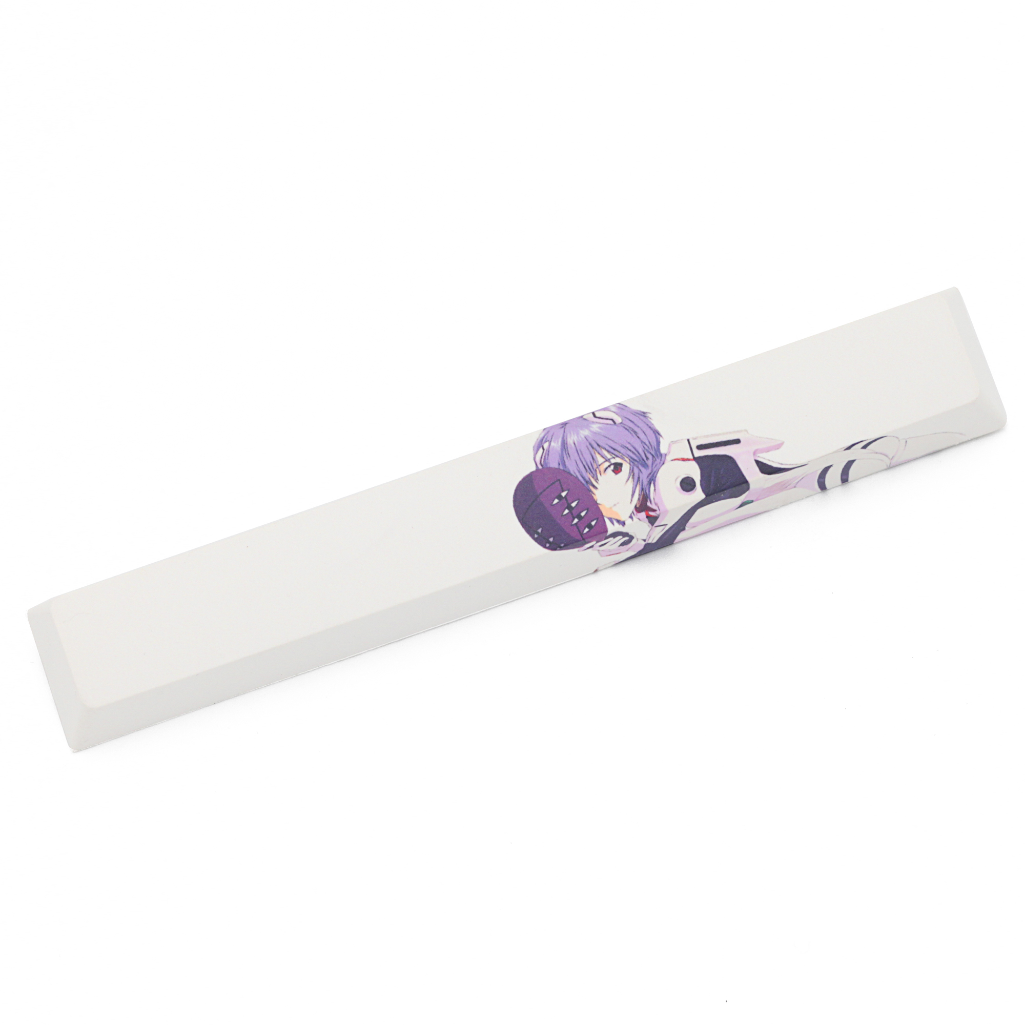 Novelty Allover Dye Subbed Keycaps Spacebar Pbt Custom Mechanical Keyboard EVA Ayanami Rei  あやなみ レイ