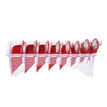 Прямоугольные пластиковые лезвия органайзер для 8 лезвий чехол для хранения стойки клипер гребень держатель