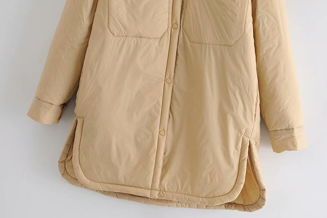 Toppies 2021 New Woman Jacket Khaki Blouse Design Coat Spring Mujer Chaqueta Thin Woman Parkas 4