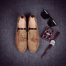 Men Loafers Soft Moccasins High Quality Spring Autumn Suede Leather Shoes Men Warm Flats Driving Shoes winter men loafers new fashion men casual warm shoes comfortable men fur flats driving moccasins quality men loafers cotton
