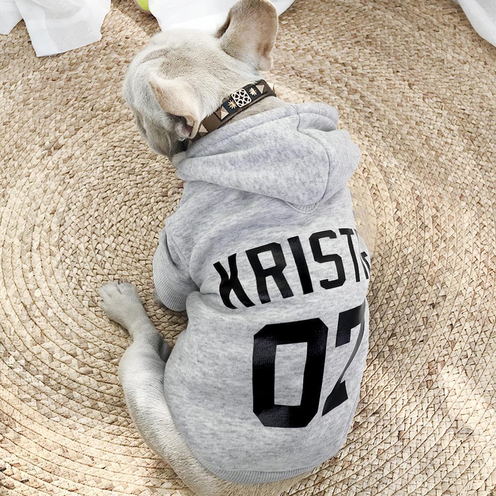 personalizado casaco de animais estimação bulldog francês