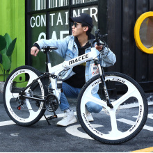 Bicycle Road-Vehicles Mountain-Bike Racing-Car Foldable Variable-Speed 24/26inch Dual-Disc-Brake