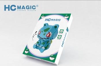 DIY Pokemon Mini Building Blocks Toys Bricks Pikachu Charizard  Anime Diamond Doll Pocket Monster Children Gifts Toy 2