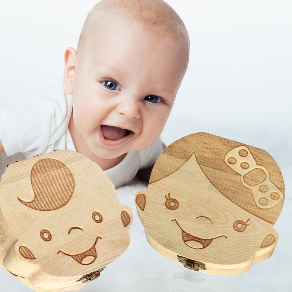 wood-baby-tooth-box-organizer-english-spanish-german-french-kid-children-milk-teeth-save-storage-lanugo-holder-case-toothbox