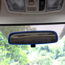 Lsrtw2017 Aluminum Alloy Car Interior Rearview Frame Trims for Mitsubishi Outlander 2013 2014 2015 Accessories lsrtw2017 stainless steelcar 4wd frame trims for mitsubishi outlander 2013 2014 2015 2016 2017 2018