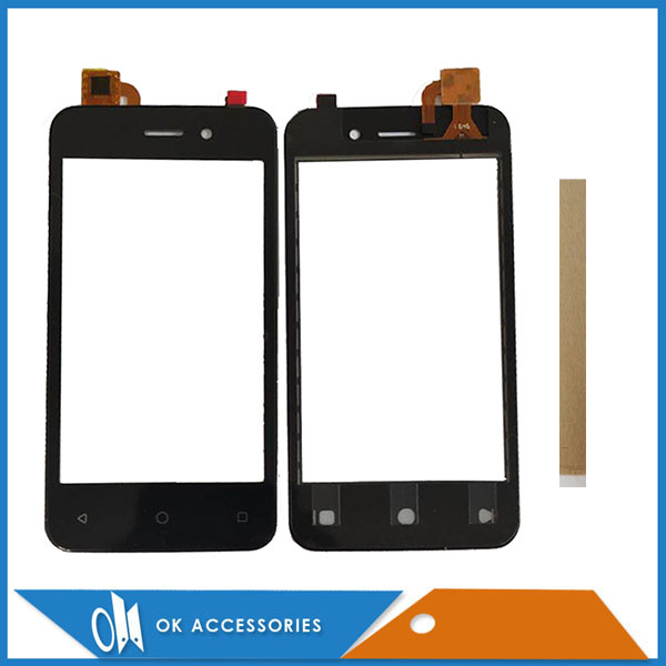4.0 Inch For Micromax Q3001 Touch Screen Digitizer Panel Replacement Front Glass Touchscreen With Tape
