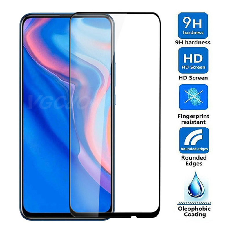 15D Tempered Glass For Huawei Y9 Prime 2019 Screen Protector On Y5 Lite Y6 Y7 Prime 2018 Y6 Y7 Pro 2019 Y7S Protective Glas Film