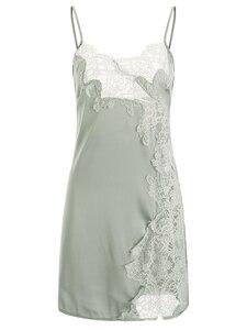 Image 5 - Womens Summer Night Dress Sexy Female Nightgown Temptation Home Wear Sleepwear Nightwear Silk Satin Nighty Ladies Lingerie