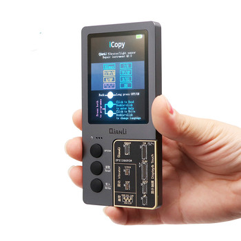 Qianli Icopy Programador Sensor De Luz Da Tela Lcd Para Iphone 7 8 Plus X Xr Xs Max Tela Lcd Eeprom Ic Fotossensível Ferramenta Reparo