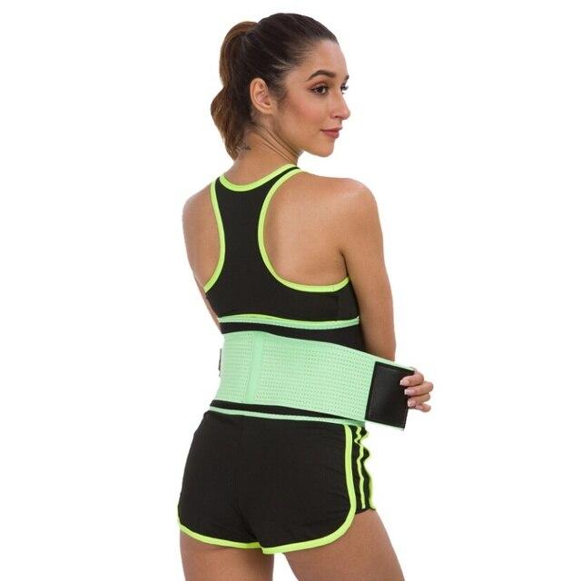 Men Women Fitness Waist Belt Waist Trimmer Belt Weight Loss Sweat Band Gym Training Weightlifting Tummy Slim Belts Body Shaper