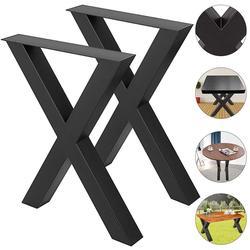 Набор из 2 стальных ножек стола, обеденные ножки для офисного стола, ножки компьютерного стола, стальные ножки скамейки, ножка для домашней м...