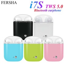i7S TWS 5.0 Bluetooth earphone Wireless Headphones Sports he