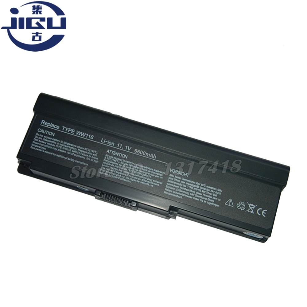 JIGU Laptop <font><b>Battery</b></font> MN151 FT095 451-10517 WW116 312-0580 NR433 312-0585 For <font><b>Inspiron</b></font> <font><b>1420</b></font> Vostro 1400 image
