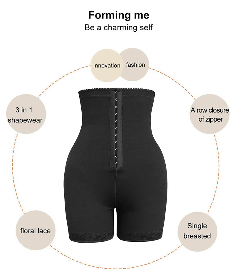 Image 5 - High Waist Control Panties for Belly Recovery Shaper Butt Lifter Slimming Underwear Postpartum Hip Enhancer Shapewear Plus Size-in Control Panties from Underwear & Sleepwears