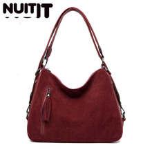 Luksusowe torebki torba damska torebki projektant znanej marki sztuczny zamsz torby na ramię crossbody damskie Casual duże torby Hobos kobieta