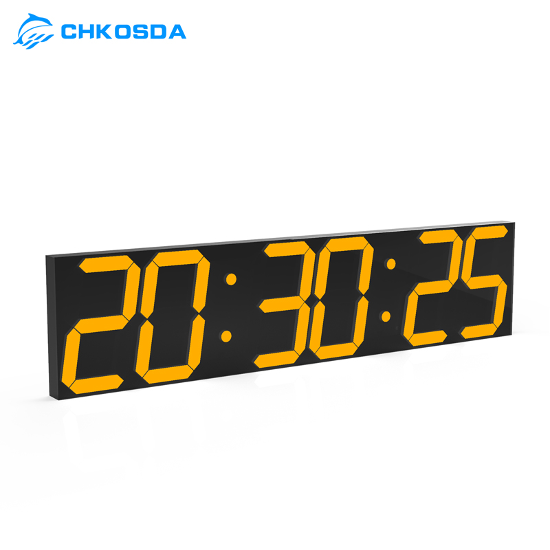CHkosda oversized display watch for library company gym club 24/12 temperature display and other multifunctional watch clock