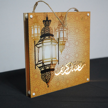 Liviorap Eid Mubarak dekorları Led boyama al fitr ev dekorasyonu İslam müslüman Mubarak ramazan dekorasyon ev için mutlu bayram