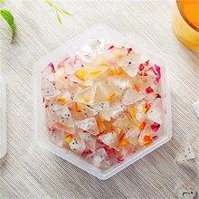 Форма для мороженого, шестиугольная форма для приготовления льда с крышкой, три варианта цвета, палочки для мороженого, кухонные инструменты для изготовления кубиков льда