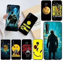 Постер HPCHCJHM Watchmen, чехол для телефона с принтом «сделай сам», чехол для Huawei P40 P30 P20 lite Pro Mate 20 Pro P Smart 2019 prime