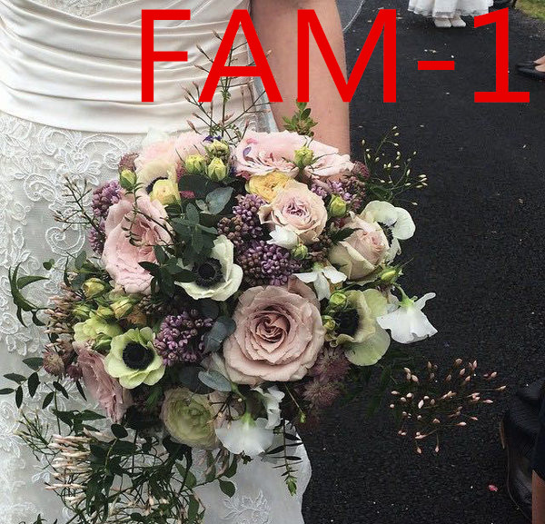 Wedding Bridal Accessories Holding Flowers 3303 FAM